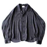 Big shirt jacket - Jacquard / Diamond