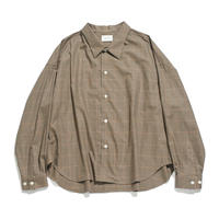 Big shirt - Check / Beige