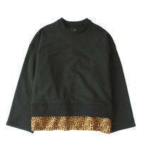 Fake layered sweat / Black