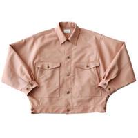 Dolman work jacket - Iridescent twill / Pink