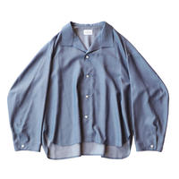 Medical shirt - Rayon chambray / Navy