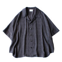 Short sleeve dolman shirt - Jacquard / Diamond
