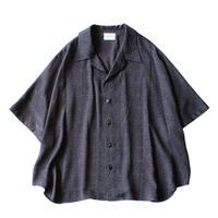 Short sleeve dolman shirt - Jacquard / Diamond