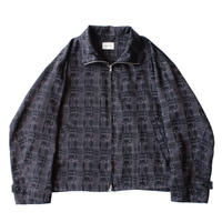 Zip up drizzler jacket - Jacquard / Block
