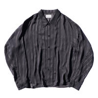 Big shirt jacket - Jacquard / Stripe