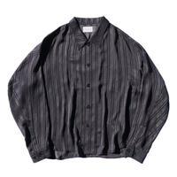 Big shirt jacket - Jacquard / Stripe