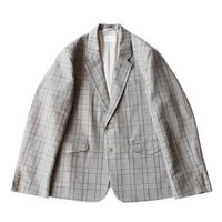 2B tailored jacket - C/L check / Gray