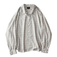 Big shirt 弐 - Glen check