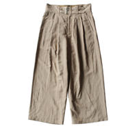 Cropped gurkha pants / Beige