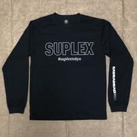 #suplextokyoドライロングTシャツ(ブラック)