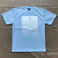 Athlete ドットドライTシャツ(ライトブルー)