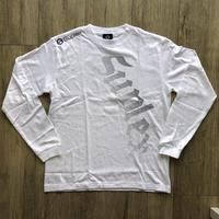 SUPLEXドットロングスリーブTシャツ(綿)シルバー