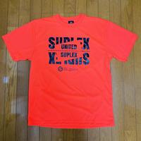 UNITED SUPLEXドライTシャツ(蛍光オレンジ)