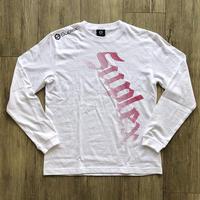 SUPLEXドットロングスリーブTシャツ(綿)ホットピンク