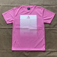 Athlete ドットドライTシャツ(ライトピンク)