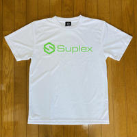 UNITED SUPLEXドライTシャツ(ホワイト×ライトグリーン)