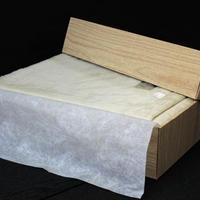 エキストラグレイドタッサーシルク毛布