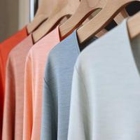 【数量限定】シルクカットソー(Long sleeve T shirt)〚HP1012〛
