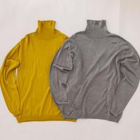シルク タートルネックセーター〚SW0605〛