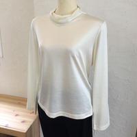 【数量限定】シルクカットソー  (Highneck T shirt)〚HP1014〛