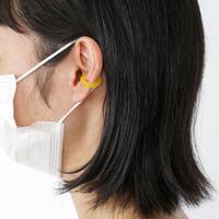 Sur/ear cuff  SR-EC01 yellow / イヤーカフ Sサイズ イエロー (片売り)