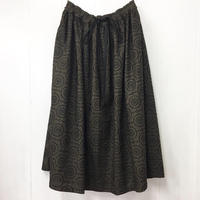 Geometric Embroidered Skirt / 03-8307003