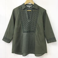 Patched Lace Blouse  / 03-9208007