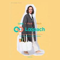 "Loopach EcoBag  L  ""Market Tote"""