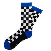 Checker Socks BLK