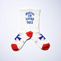 burn to raise hell socks