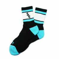SSC Sports Socks  BLACK