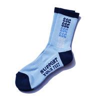 Rainbow socks Lt.Blue
