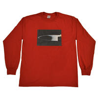 """HOCHO"" L/S Tee Maguro-Red"