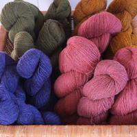 ラトビアの単糸の毛糸50g
