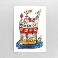 28 POST CARD|男たちのCAKE FACTORY