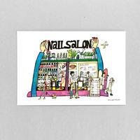 34 POST CARD|ウキウキ NAIL SALON