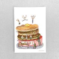 ⑤POST CARD|遊べるパンケーキ屋さん