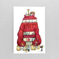 47 POST CARD|編み物男子も集まるニットのお店