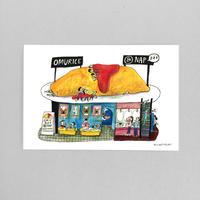 37 POST CARD|美味しいオムライスと 昼寝のお店