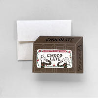 mini Chocolate card set