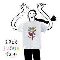 5.6 oz / Power FLOWER  T-shirt / インクジェットプリント