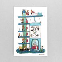 44 POST CARD|マッチョたちの美味しい美味しい水屋さん