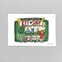 16 POST CARD|カギのことなら KEY SHOP