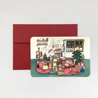 Santa Card Set (red)
