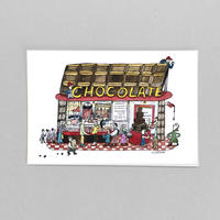 38 POST CARD|CHOCO LATE LOVE