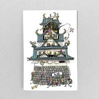 ⑧POST CARD|お城