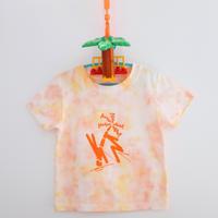 【KIDS】おでし×OKI KENICHI Neo Tropical / T-shirt マンゴー
