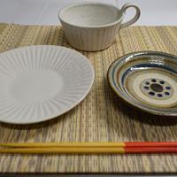 洗える畳ランチョンマット 淡黄色(たんこうしょく)