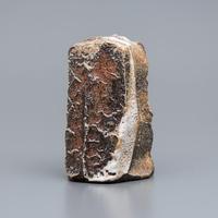 No.14:YOHEN Natural Ash Glaze TOUKAISEKI Vase「窯変灰被陶塊石花器」