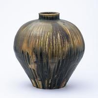 No.38:YOHEN Natural Ash Glaze Large Vase「窯変灰被大壷」